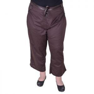 Макси размер дамски панталони с дължина 7/8