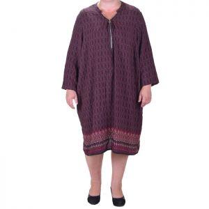 Дамска рокля голям размер