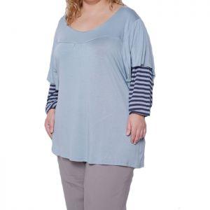 Голям размер дамска блуза
