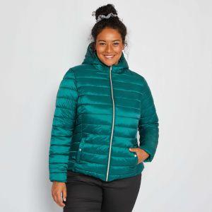 Шушляково дамско яке в големи размери