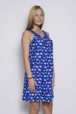 Синя дамска рокля