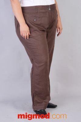 Официален  дамски панталон голям размер
