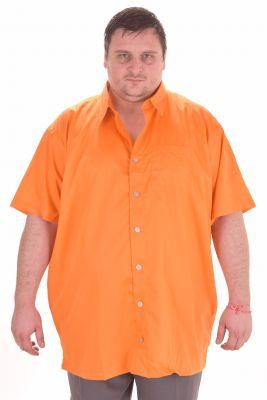 Мъжки ризи с къс ръкав големи размери