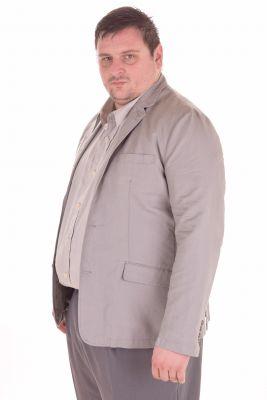 Мъжко ленено сако голям размер