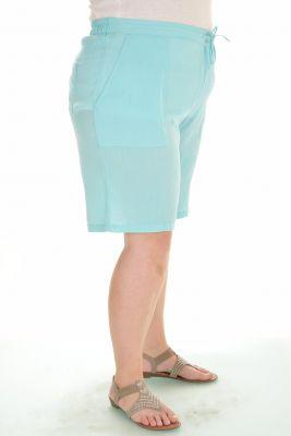 Дамски къси панталони голям размер