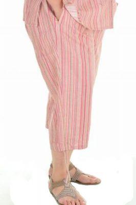 Дамски ленени панталони голям размер