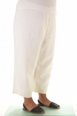 Ленени панталони голям номер