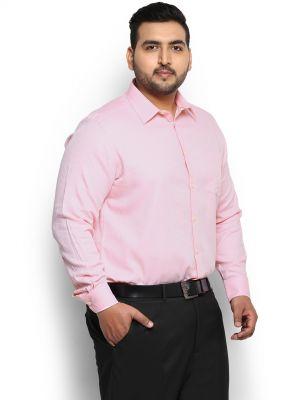 Голям размер мъжка риза с дълъг ръкав