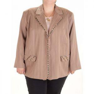 Голям размер дамско сако