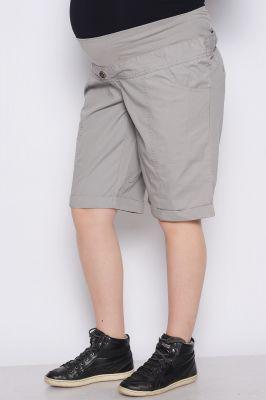 Къс панталон за бременни жени с еластичен колан
