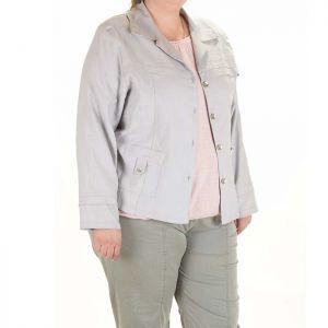 Спортно елегантно дамско сако голям размер