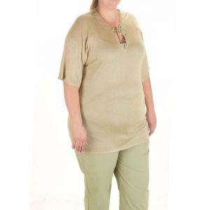 Блуза макси рамзер