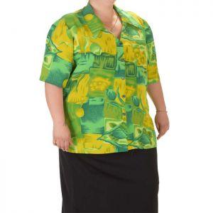 Голям размер дамска риза