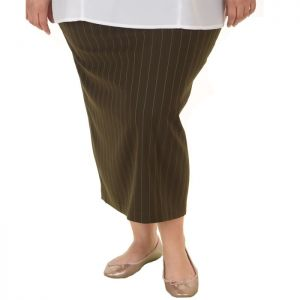 Дамска пола голям номер