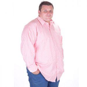 Мъжка риза голям размер 3XL-6XL