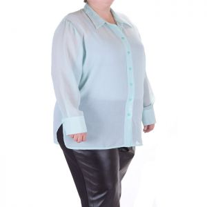 Ефирна дамска риза макси номер