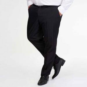 Мъжки официален черен панталон