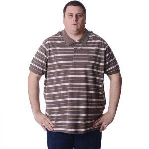 Мъжка блуза с къс ръкав голям номер