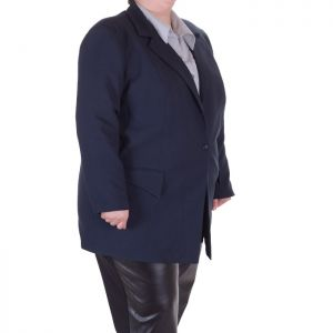 Голям размер елегантно дамско сако