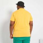 Голям номер мъжка блуза с къс ръкав